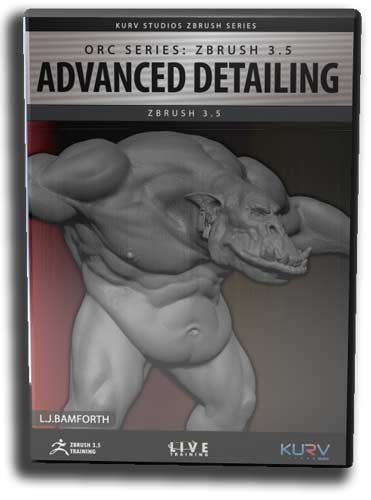 Orc Series: Advanced Detailing with ZBrush 3.5