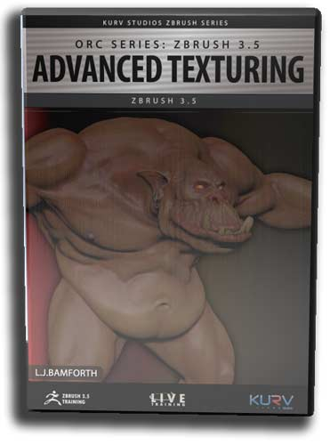 Orc Series: Advanced Texturing with ZBrush 3.5