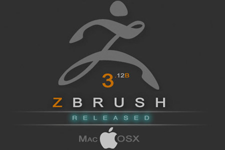 ZBrush 3.12B OSX Released