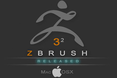 Released ZBrush 3.2 OSX